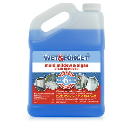 Wet and Forget Outdoor Mold Mildew Algae Stain Remover