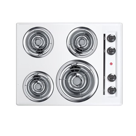 Summit Appliance Summit 24'' Electric Cooktop with 4 Burners