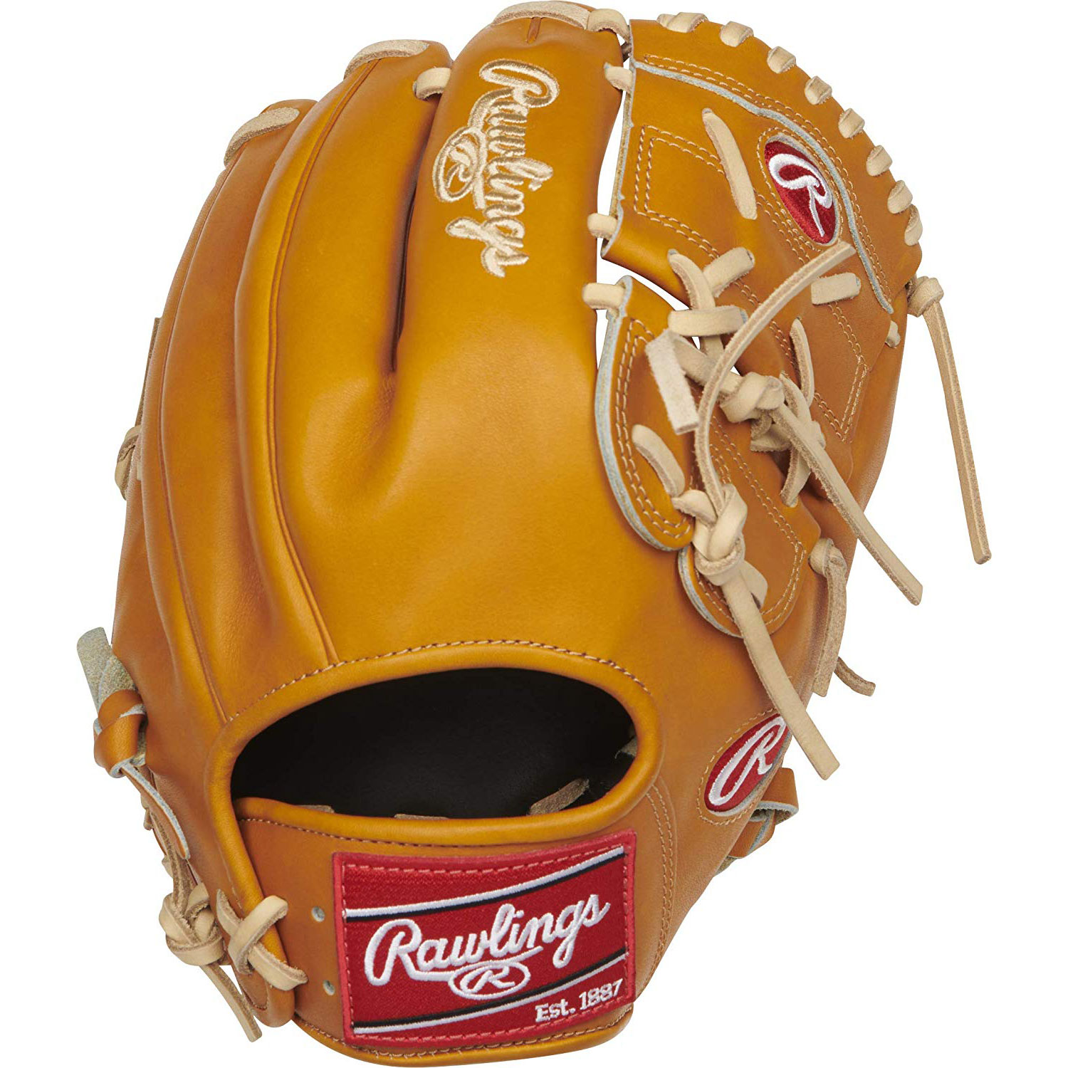 Rawlings Heart Of The Hide 12 Inch Left Handed Infielder Pitcher Baseball Mitt