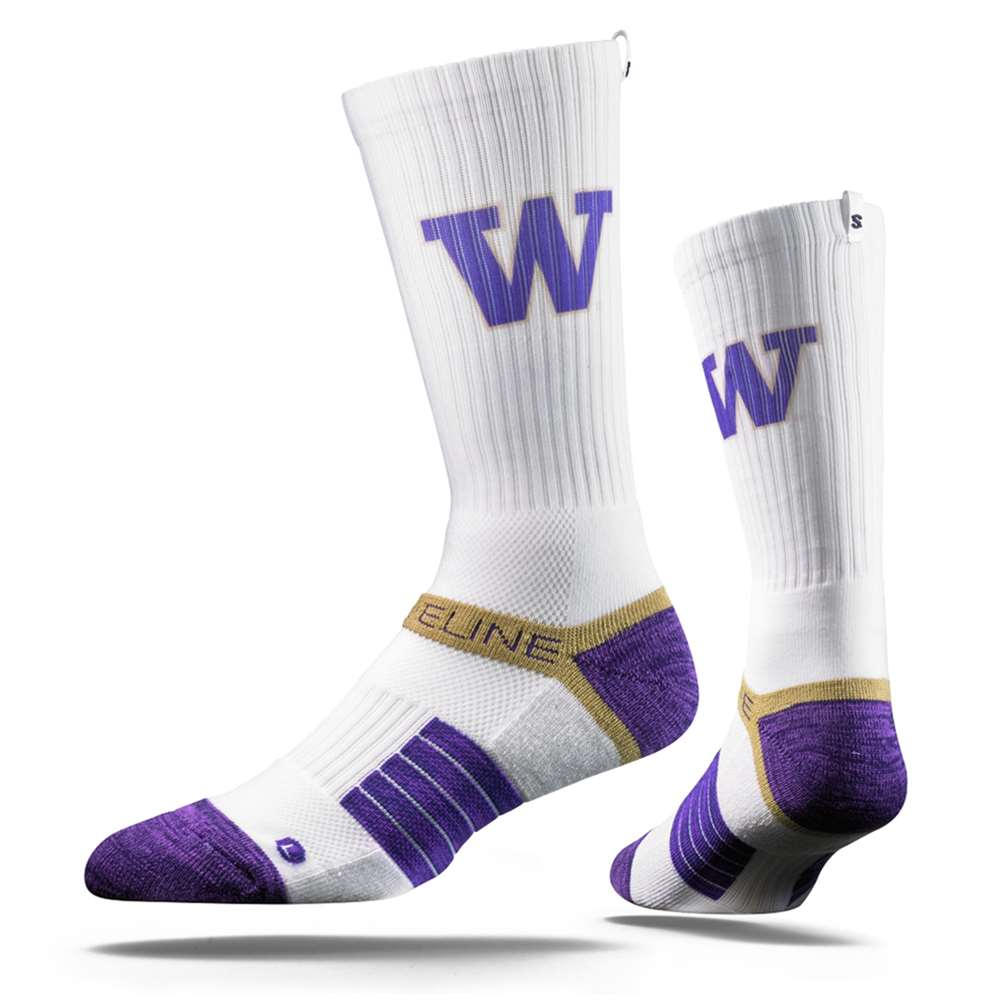 Campus View Strideline Wisconsin Badgers Strapped Fit 2.0 Socks