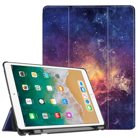 Fintie 10.5-inch iPad Air (3rd Gen) / iPad Pro SlimShell Case Cover with Apple Pencil Holder, Galaxy