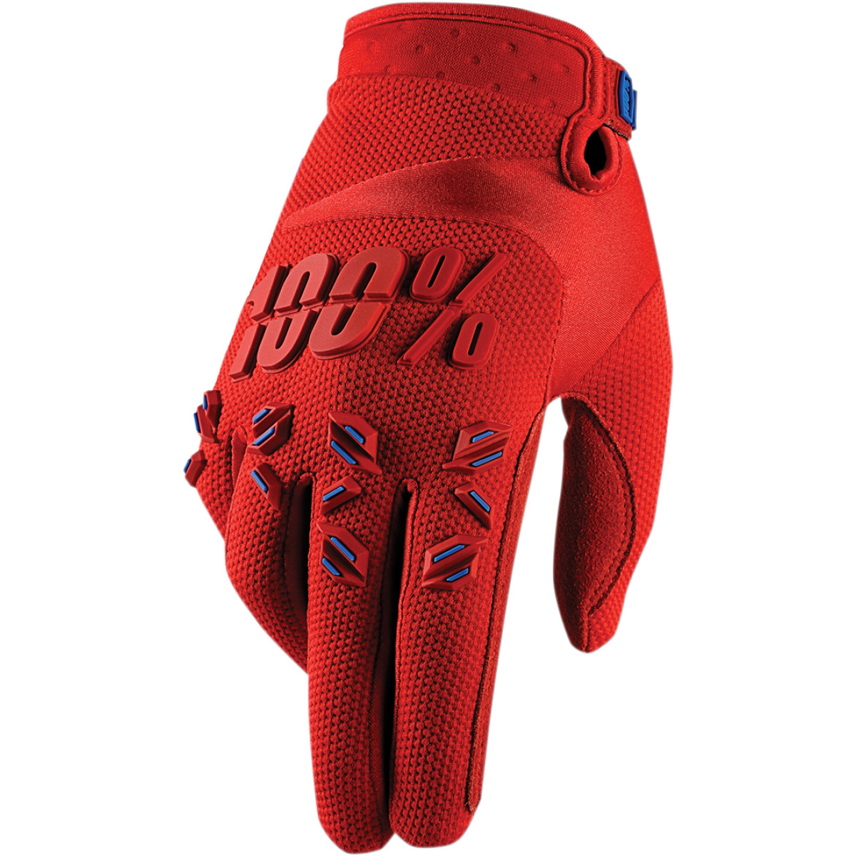 100% Airmatic Mens 2015 MX Offroad Gloves Red SM