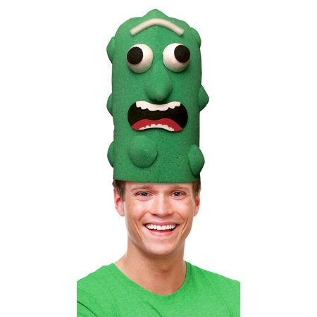 Pickle Unisex Adult Funny Food Foam Halloween Costume Hat](Best Halloween Pranks Funny)