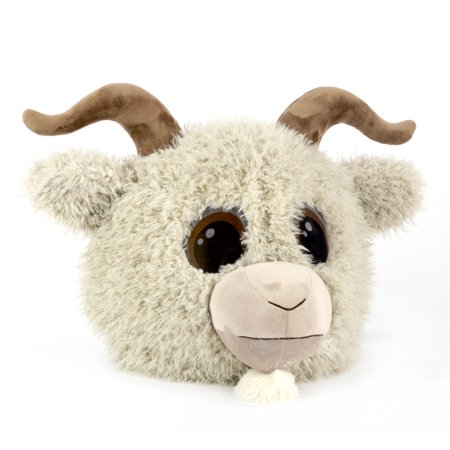Maskimals Oversized Plush Halloween Mask - Goat