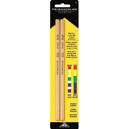 Prismacolor Premier Colorless Blender Pencils, 2-Count (Watercolor And Colored Pencil)
