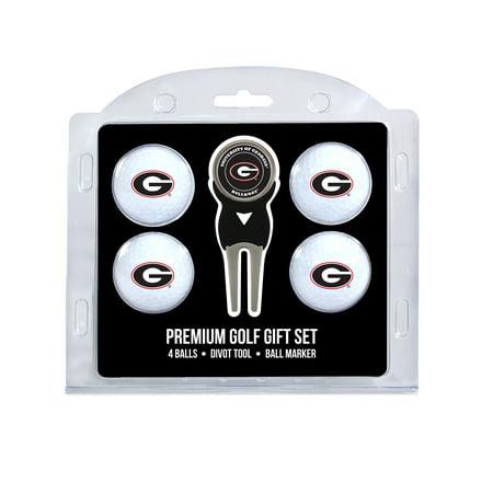 Team Golf - 4 Golf Ball And Divot Tool Set, Georgia Bulldogs