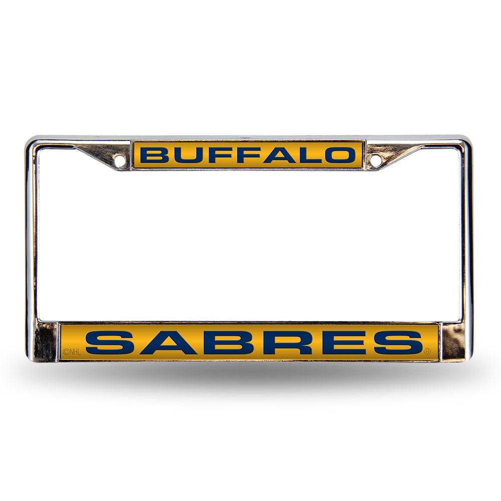 Buffalo Sabres NHL Laser Chrome Frame
