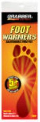 Grabber Small Medium Foot Warmer Insole Flexible Air Activated Warmer 4PK by