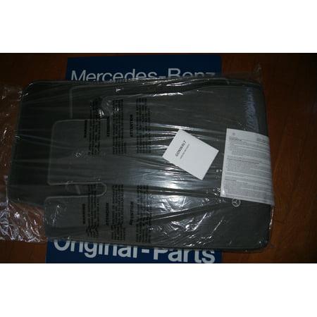 Mercedes Benz S430 Tire - Mercedes Benz S430 S500 S600 S55 AMG W220 Ash Gray Carpet Floor Mats BQ6680548