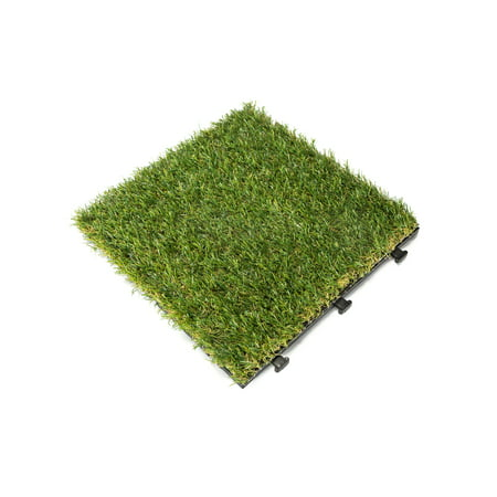 Courtyard Casual Artifical Grass Deck Tile, 6 pc (0.75 Tiles)