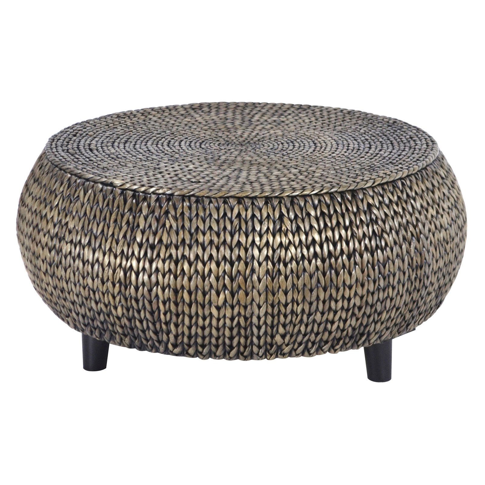 - Gallerie Decor Bali Breeze Low Round Accent Table - Walmart.com