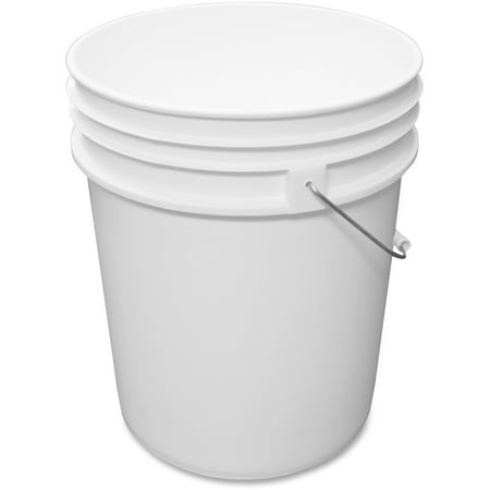 Impact Products, IMP5515P, 5-gallon Utility Pail, 1 Each, White (White Mini Pails)