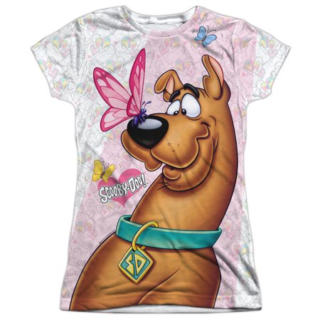 Scooby Doo Butterfly Juniors Sublimation Polyester - Scooby Doo Girls