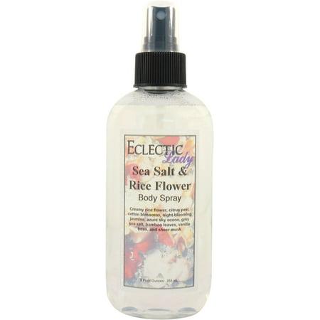 Sea Salt and Rice Flower Body Spray, 16 ounces