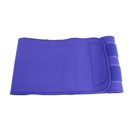 Unique Bargains Crochet de compression et boucle Maigrir taille Trimmer Soutien ceinture pour les femmes Bleu