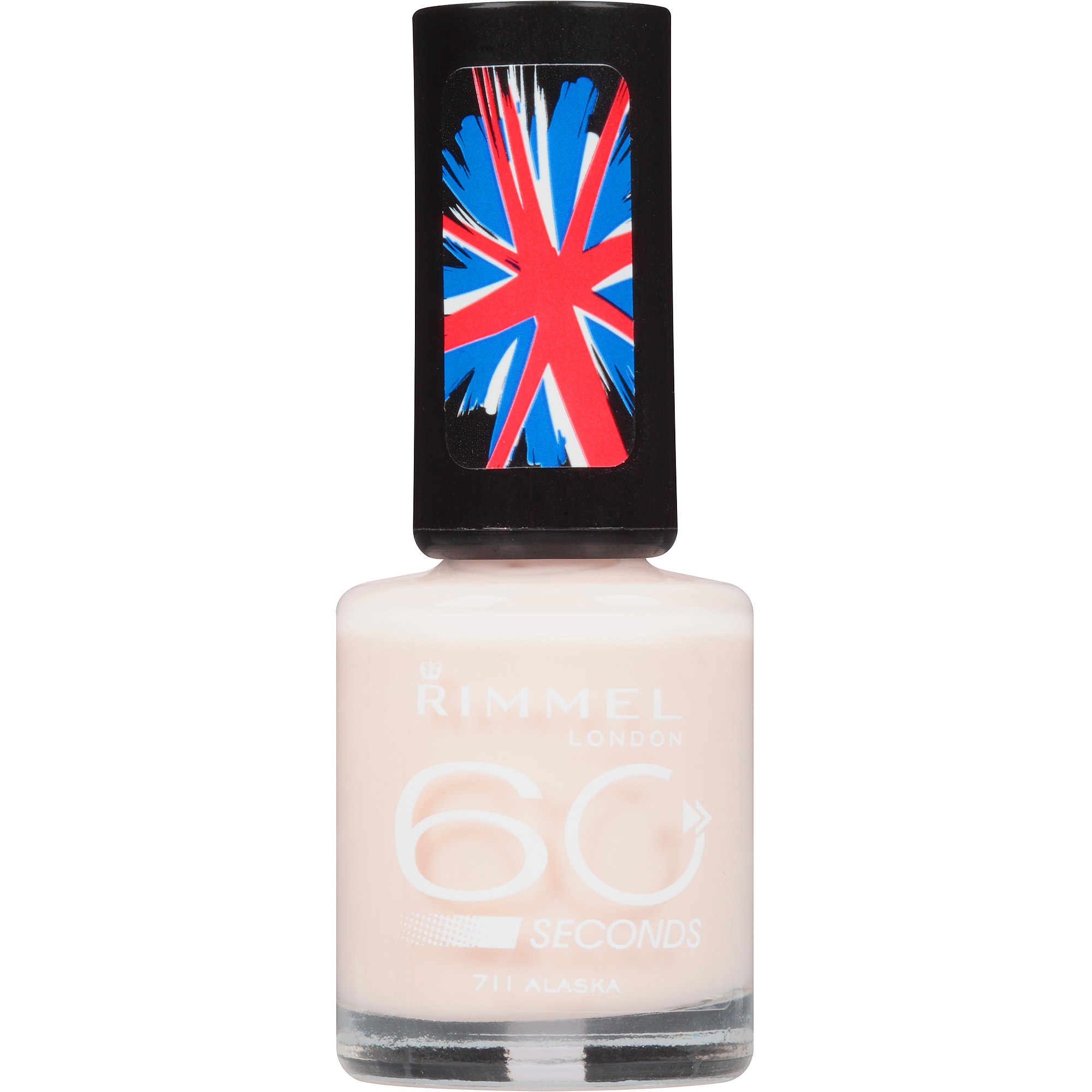 Rimmel London 60 Seconds Nail Polish, 711 Alaska, 0.27 fl oz - Walmart.com