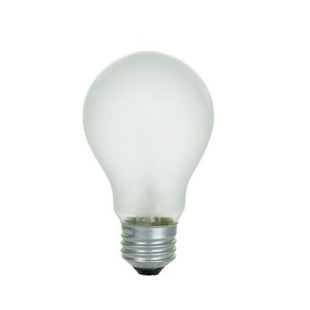 2PK - SUNLITE 100w 130v A19 Rough Service Medium Base Frost light bulb 100w Rough Service Bulb