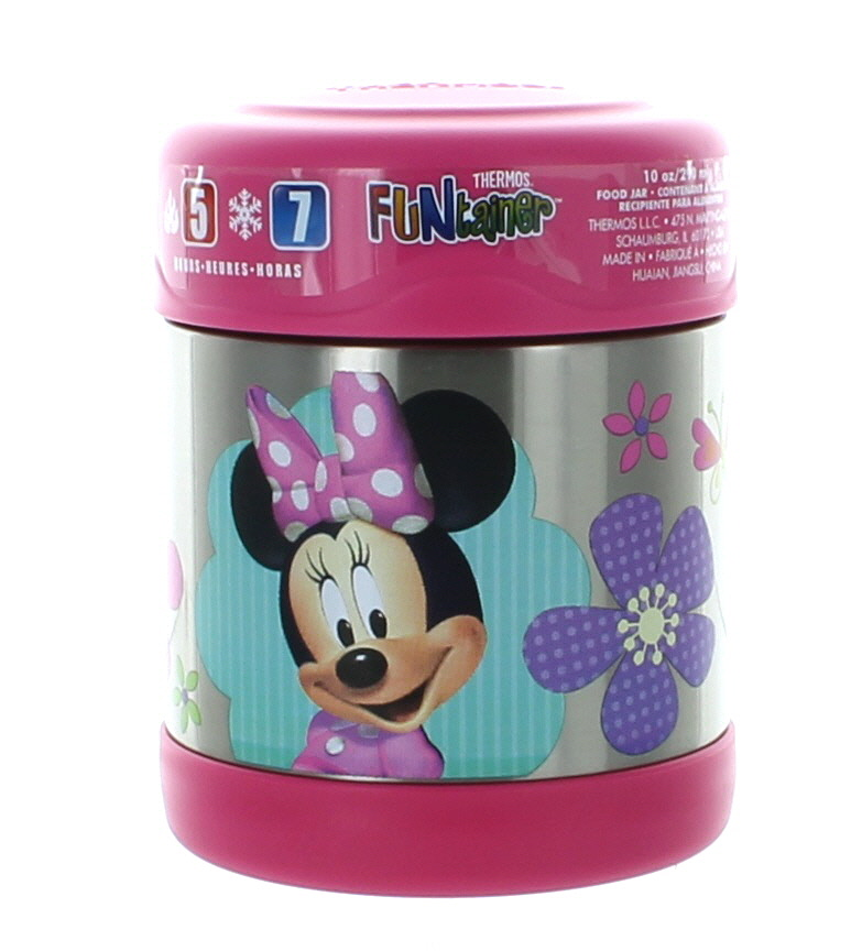 Thermos Funtainer 10 Ounce Food Jar, Minnie Mouse