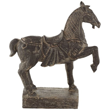 Brown standing horse 13 high decorative statue by kensington hill wal - Statue decorative d interieur ...