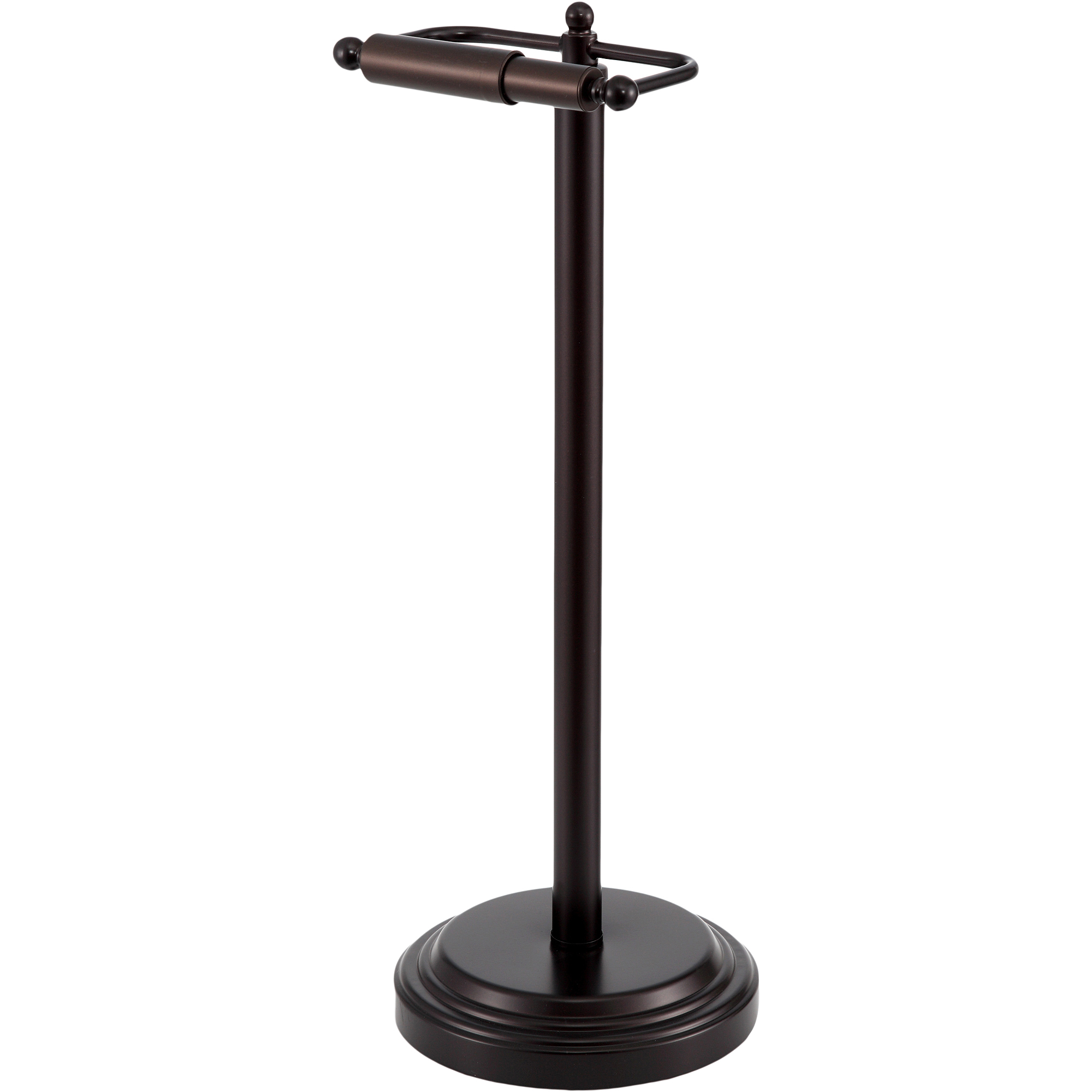 Modern toilet paper holders free standing - Chapter Standing Toilet Paper Holder Oil Rubbed Bronze Finish Walmart Com