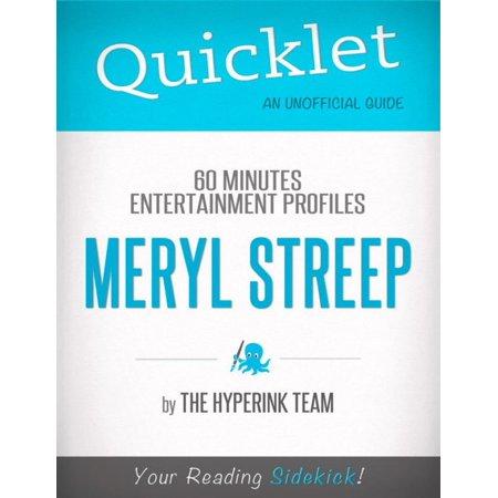 Quicklet on 60 Minutes Entertainment Profiles: Meryl Streep - (Meryl Streep Tommy Lee Jones Steve Carell)
