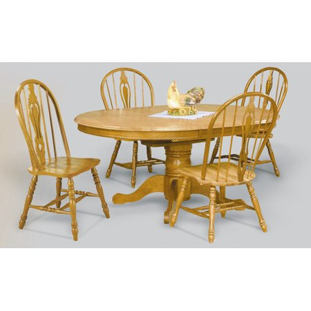 trading 48 inch round dining table with butterfly leaf