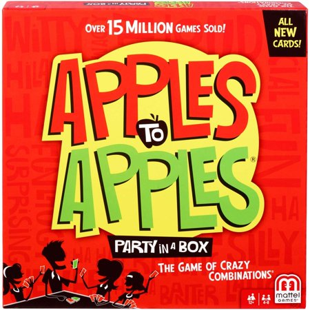 Apples to Apples Party in a Box Card Game for 4-8 Players Ages (Fire Car Games)