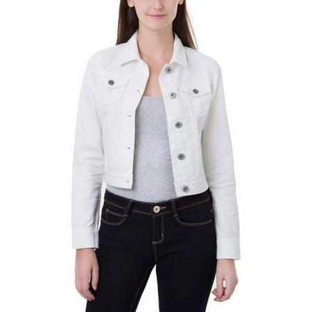 J Jeans by Jordache Juniors' Long Sleeve Jean Jacket - Walmart.com