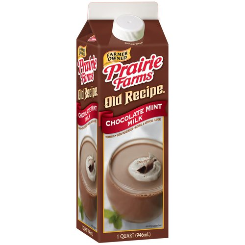 Prairie Farms Old Recipe Chocolate Mint Milk, 32 oz
