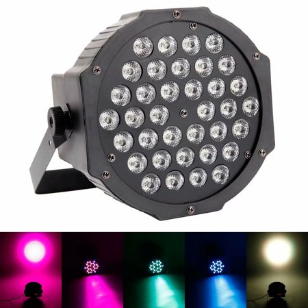 Dmx 512 Lighting (Clearance! 36W 36-LED RGB Auto / Sound Control DMX512 High Brightness Mini DJ Bar Stage Party Parcan Light)