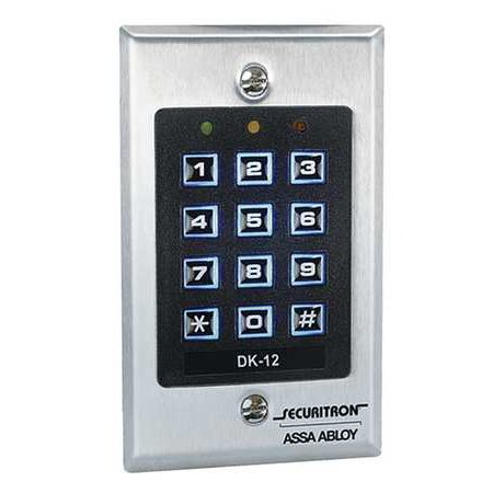 SECURITRON DK-12 Digital Access Keypad