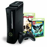 Refurbished Xbox 360 Elite 120GB Bundle W/ Lego Batman & Pure