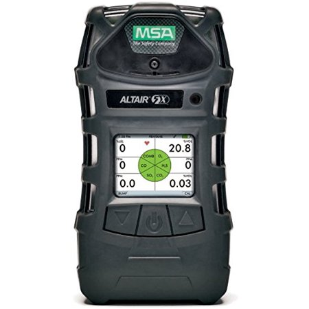 MSA Combustible Gases, Oxygen, Carbon Monoxide And Hydrogen Sulfide ALTAIR(R) 5X Gas Monitor With Rechargeable Battery, Monochrome Display, Pump, Sampling Line And Probe