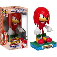 Sonic the Hedgehog Wacky Wobbler Knuckles the Echidna Bobble Head