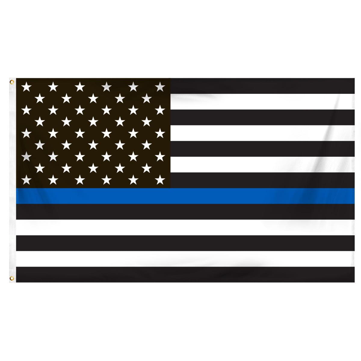 Blue Lives Matter Wholesale Metal Novelty Wall Decor License Plate