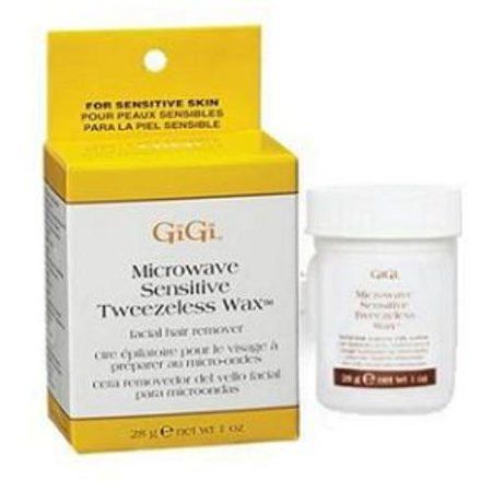 Gigi Microwave Sensitive Tweezeless Wax - Gigi Wax 0893 Sensitive Tweezeless Microwave Wax 1 Oz