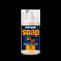 (2 pack) Everyone 3-in-1 Soap for Men Cedar and Citrus 32 Oz.