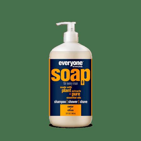 Everyone 3-in-1 Soap for Men Cedar and Citrus 32