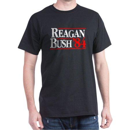 Reagan Bush '84 Campaign T-Shirt - 100% Cotton T-Shirt Anti Bush Tee Shirts
