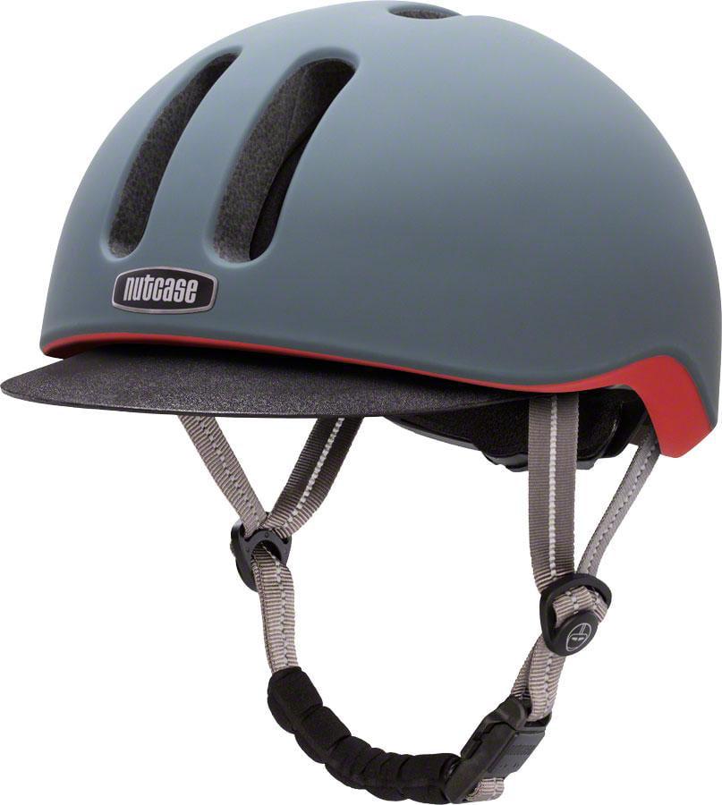 Nutcase Metroride Bike Helmet: Graphite Matte SM/MD