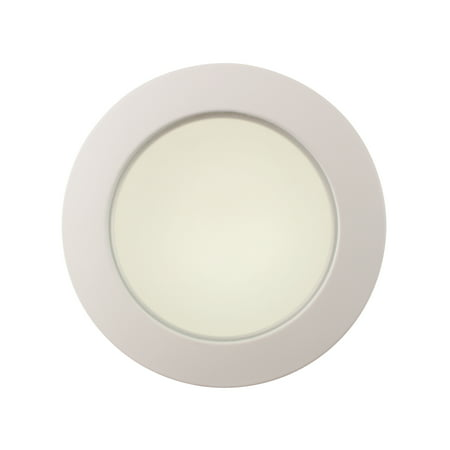 Commercial Electric 4 White Shower Recessed Lighting Trim Frosted Lens