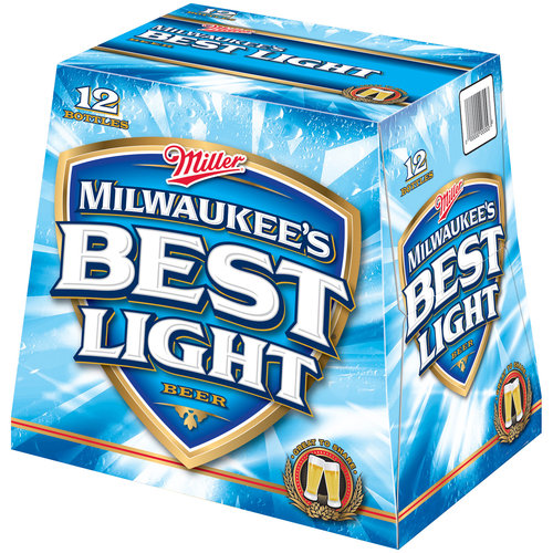 best light beer milwaukee s best light 12 oz 12pk walmart 10093