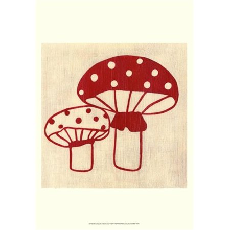 Old World Prints OWP43754D Best Friends- Mushrooms Poster Print by Chariklia Zarris -13 x