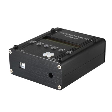 MR300 Digital Shortwave Antenna Analyzer Meter Tester 1-60MHz RF SWR for Ham Radio with BT - image 1 de 7