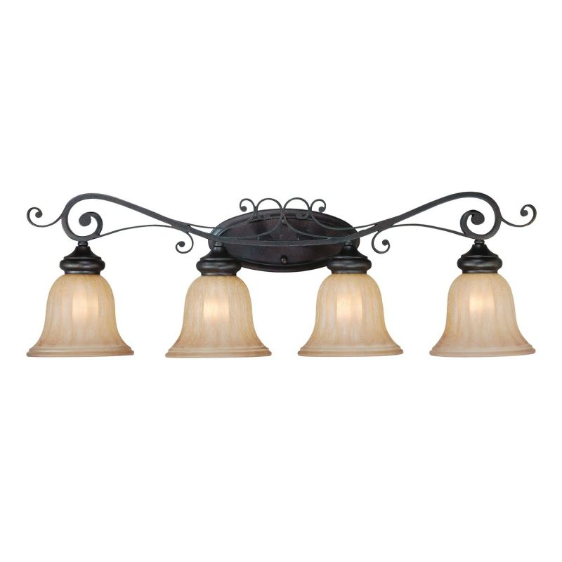 Jeremiah LaGrange 4 Light Bath Vanity Light