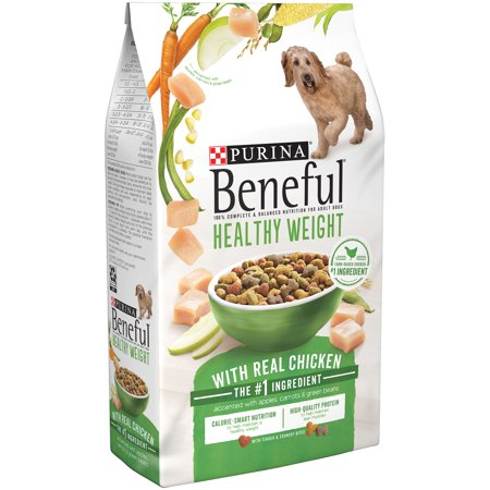 Purina Beneful Healthy Weight With Real Chicken Dry Dog Food 15.5 lb. Bag