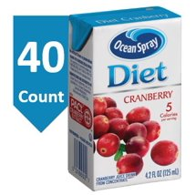 Juice Boxes: Ocean Spray Diet