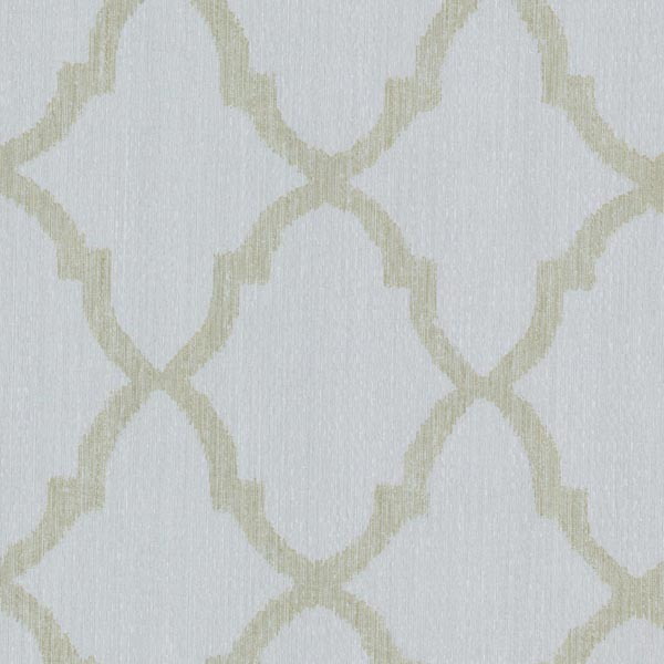 Decorline Oscar Light Blue Fretwork Wallpaper