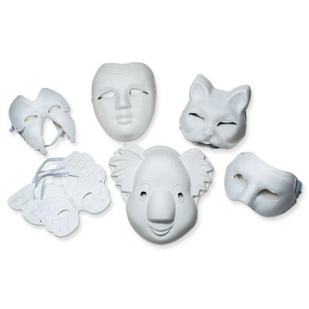 Outline Of Mask (Creativity Street® Paperboard Mask Assortment, Set of)