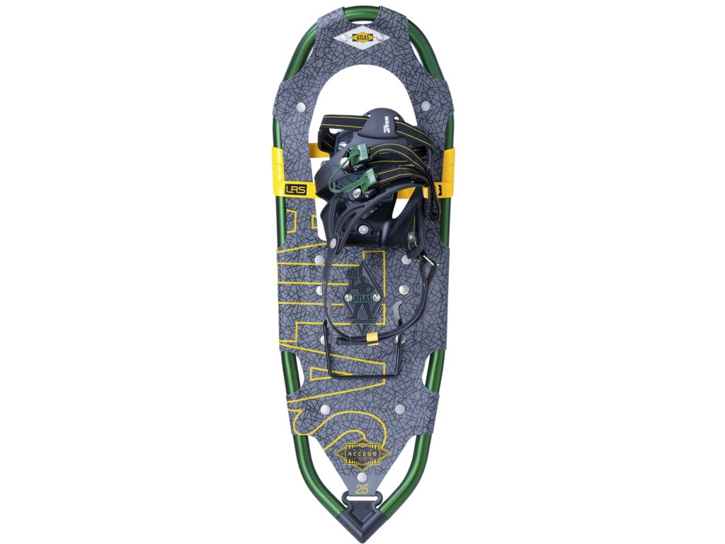 Atlas Snowshoes Access 25 Snowshoe Color Gray Green by Atlas Snowshoes